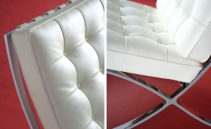 Barcelona Chair Details